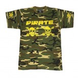 Pirate T-Shirt CAMOUFLAGE/Navy Yellow